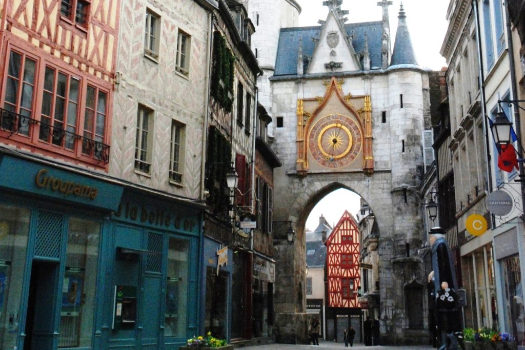 Auxerre Old Town