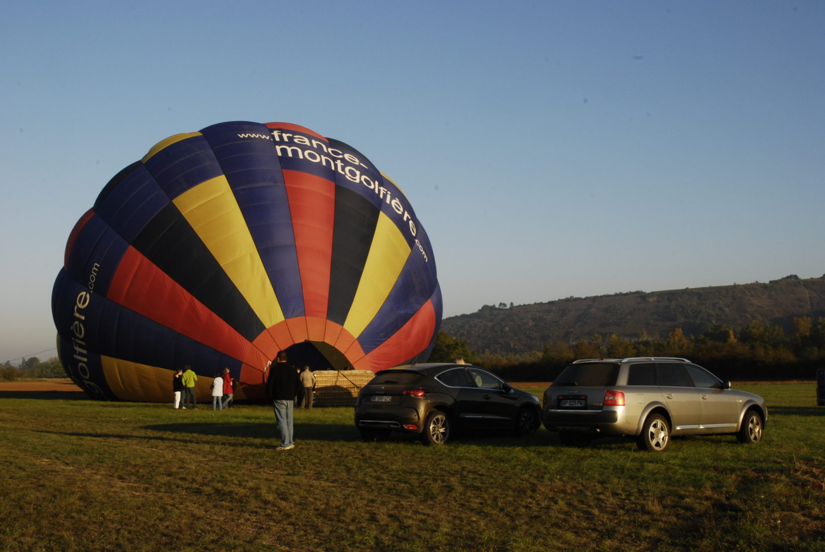 Readying the Balloon