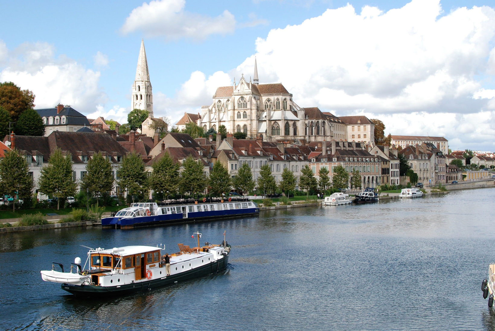 Arrive To Auxerre  Aboard The Randle.