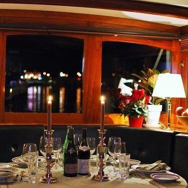 Enjoy Fine Dining Aboard
